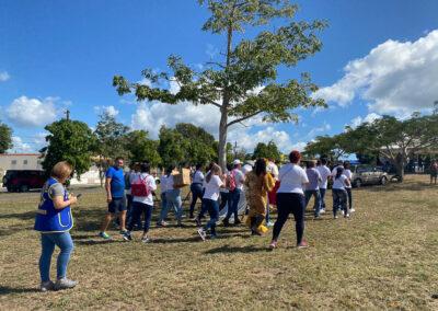 Actividad comunitaria sismos 2020